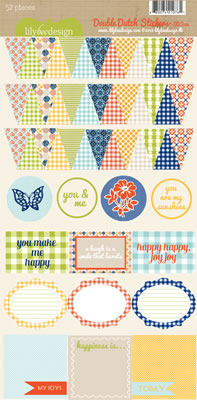 Lily Bee - Double Duch - Stickers